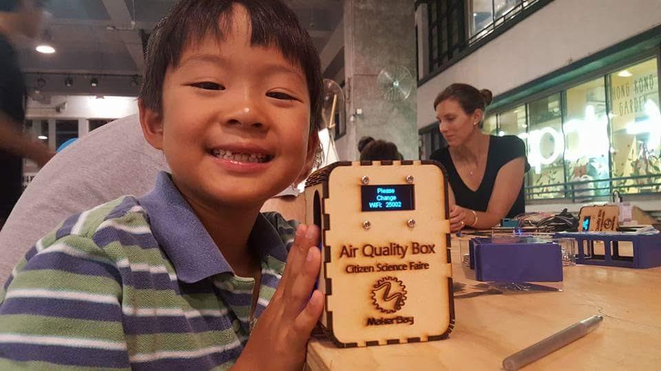 Air Quality Box workshop