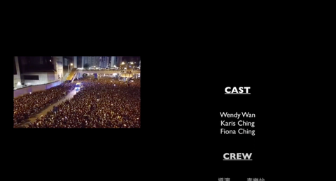 I intended to add in the extradition law protest scenes at the end of the movie to cheer up Hong Kongers to strive for our dream.