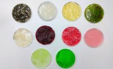 4. Bioplastic set for drying