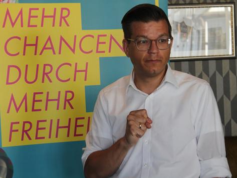FDP schickt eigenen Landrats-Kandidaten ins Rennen: Björn Försterling will Steinbrügge ablösen