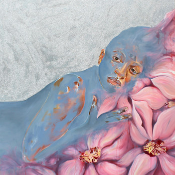 Laila in Orchids (Interstitial Lush)