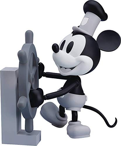 Good Smile Steamboat Willie: Mickey Mouse (1928 Black & White Version)Figure