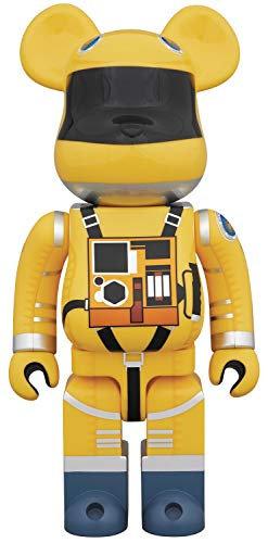 Medicom 2001 A Space Odyssey: Space Suit (Yellow Version) 1000% Bearbrick