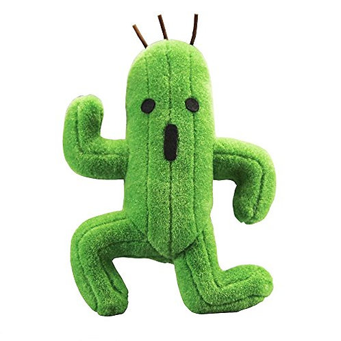 Square Enix Final Fantasy 2016 Cactuar Stuffed Plush, 12""