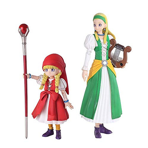 Dragon Quest XI: Echoes of an Elusive Age Bring Arts Veronica & Serena Figures