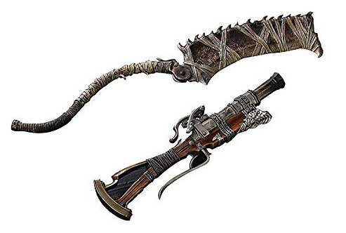 Gecco Bloodborne Hunter's Arsenal: Saw Cleaver and Hunter Blunderbuss 1:6 Weapon