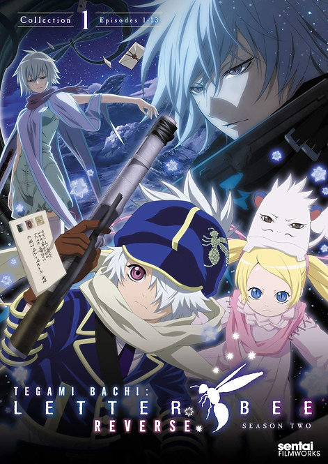 Tagami Bachi Letter Bee Reverse Season 2 Collection 1 DVD