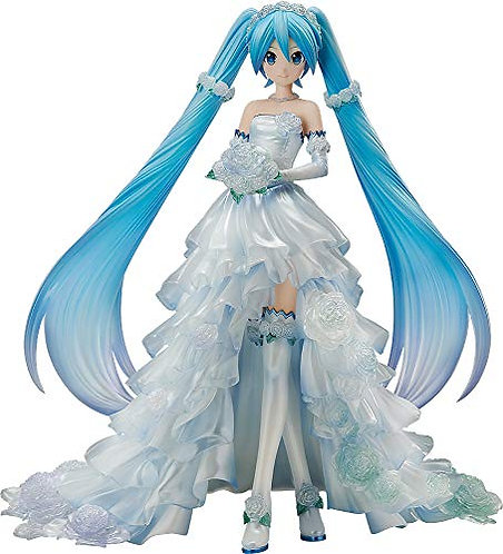 FREEing Character Vocal Series 01: Hatsune Miku (Wedding Version) 1: 7 Figure