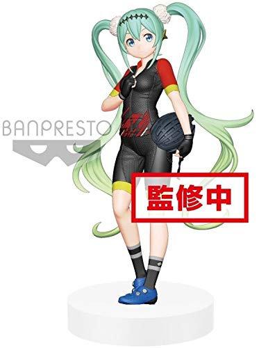 Banpresto 39224 Hatsune Racing Miku 2018 Team Ukyo Ver. Exq Figure