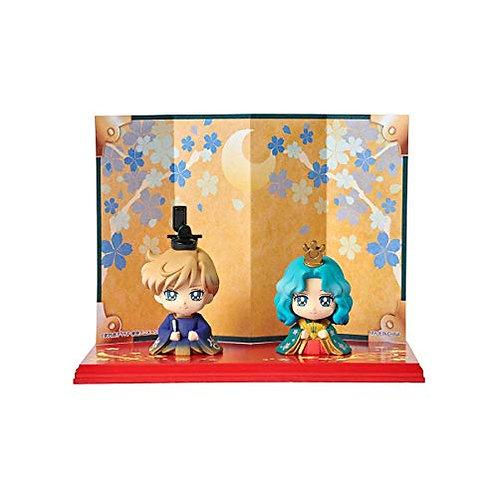 Sailor Moon Petit Chara Hinamatsuri: Haruka & Michiru 2 Pack Figure Set