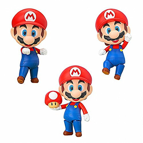 Toy - Nendoroid- Vinyl Figure - Super Mario - Mario Nendoroid Figure