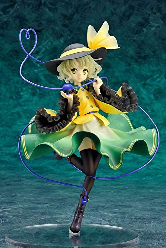 Touhou Project Statue 1/8 Koishi Komeiji The Closed Eye of Love 19 cm Ques