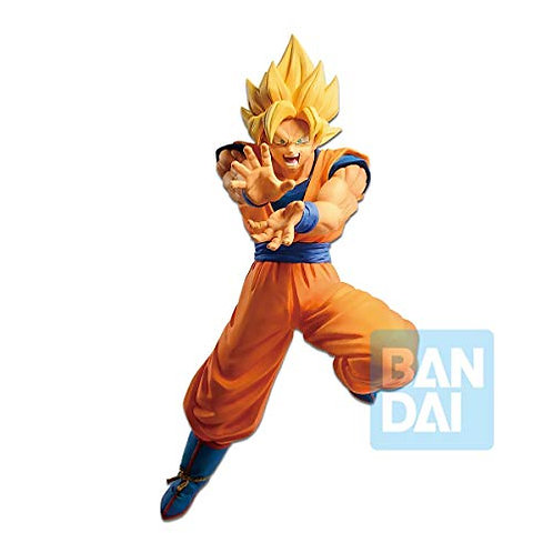 DBZ The Android Battle with Dragon Ball Fighterz Super Saiyan Son Goku Figure