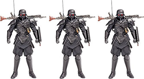 The Red Spectacles: Plamax MF-23 Minimum Factory Protect Gear Model Kit