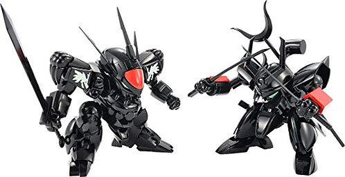 Mashin Hero Wataru: Plamax Ms-04 Black Ryujinmaru & Senjinmaru Model Kit