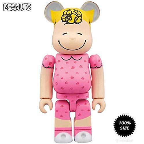 Medicom Sally Brown Peanuts 100% Bearbrick Toy
