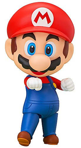 Good Smile Super Mario: Mario Nendoroid Action Figure