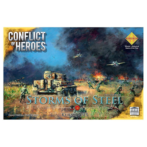 Conflict of Heroes: Storms of Steel 3E