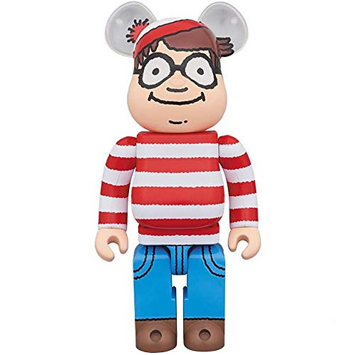 Medicom Toy - Bearbrick - Martin Handford - Where's Wally? - Size Version 1000%