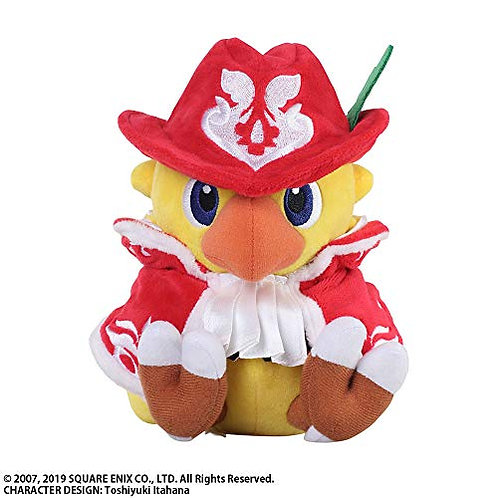 Chocobo's a wondrous dungeon Everybuddy! Chocobo Red Mage Plush toy