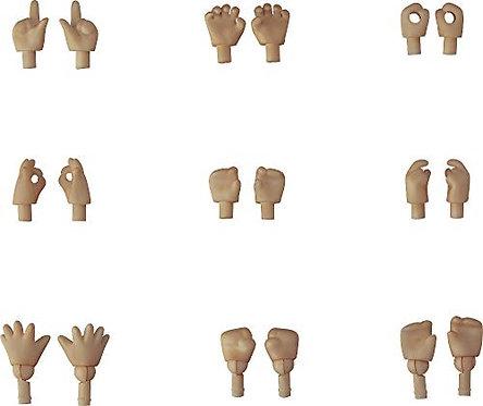 Good Smile Nendoroid Doll Hand Parts (Cinnamon Version) 18Piece Set