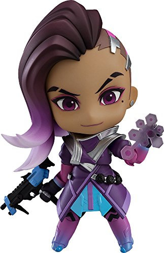 Good Smile Overwatch: Sombra Classic Skin Edition Nendoroid Action Figure