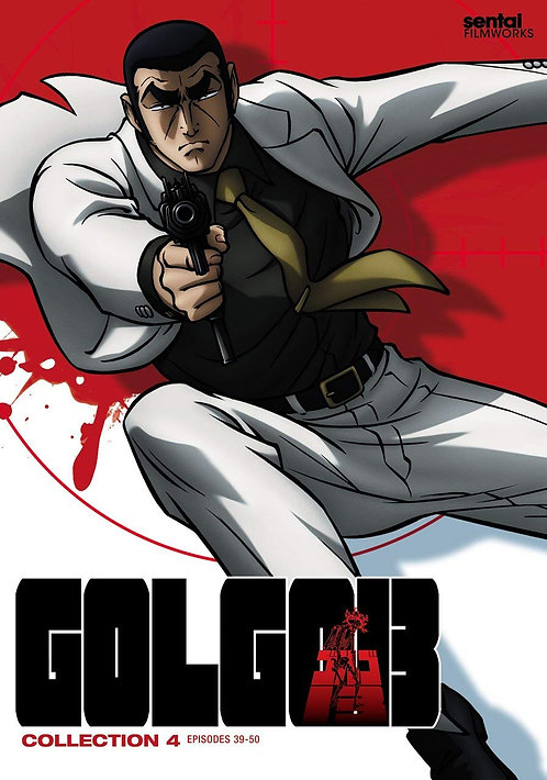 Golgo 13: Collection 4 DVD
