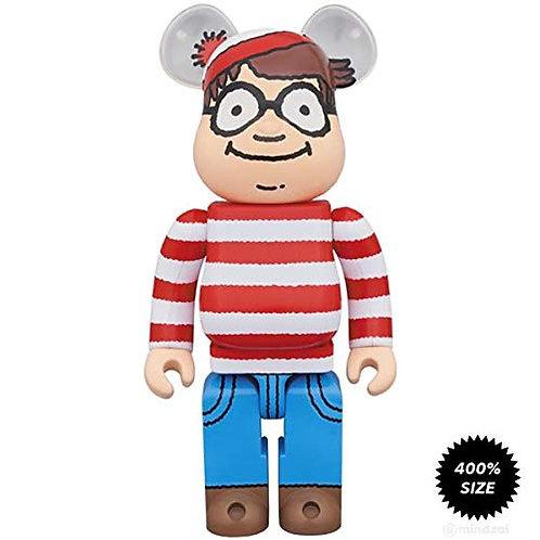 Medicom Waldo 400% Bearbrick Figure