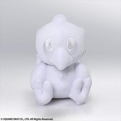 Square Enix Final Fantasy Chocobo Autograph Plush Doll (White)