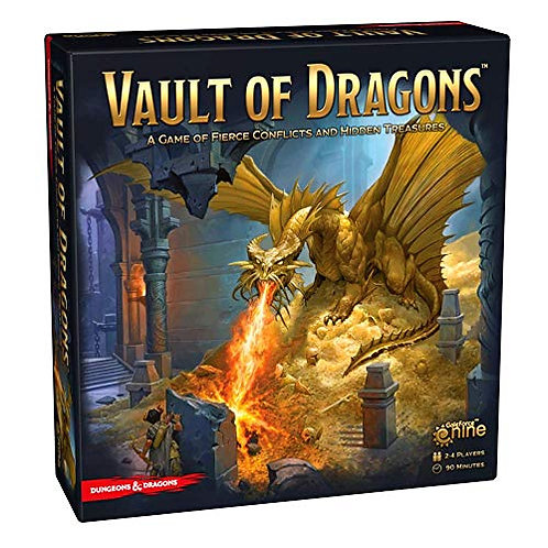 D&D: Vault of the Dragons Board Game
