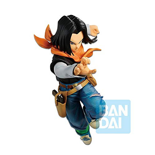 35789 Dragon Ball Super Battle with Dragon Ball Fighterz Android 17 Figure