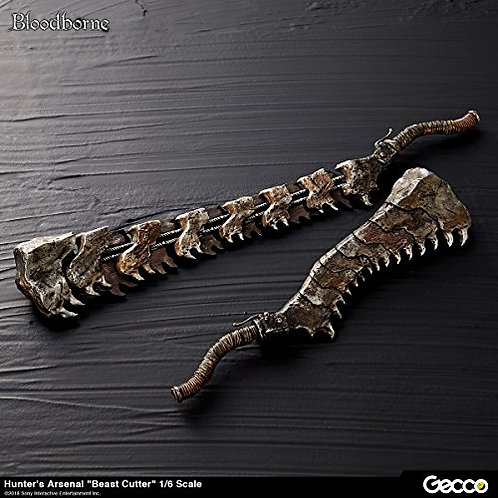 GECCO Bloodborne: Hunter's Arsenal Beast Cutter 1: 6 Scale Weapon Accessory