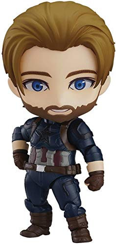 Good Smile Nendoroid Captain America: Infinity Edition DX Ver
