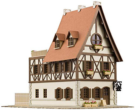 is The Order A Rabbit?: Anitecture Rabbit House 1: 150 Scale Paper Model Kit