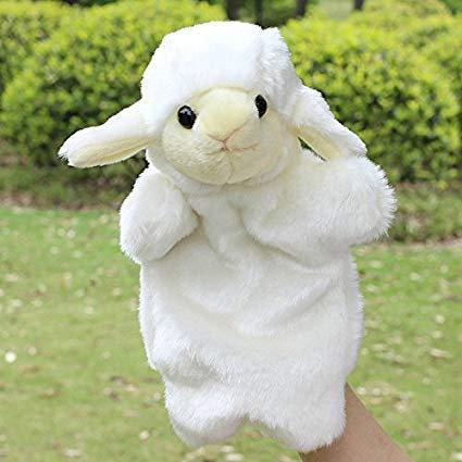 White Sheep Hand Puppet