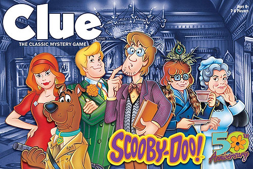 CLUE: Scooby-Doo Board Game