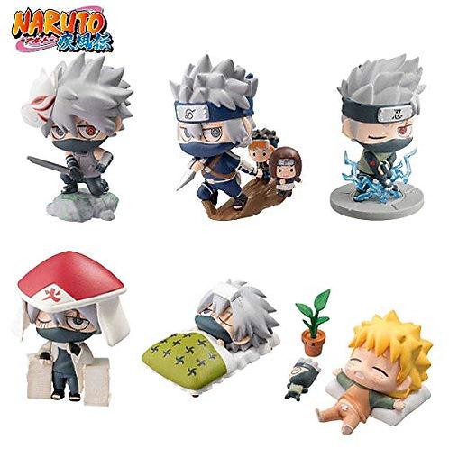 Megahouse Petit Chara Land Naruto Shippuden: Kakashi Hatake Special Set