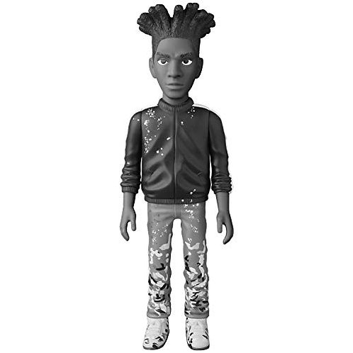Medicom Jean-Michel Basquiat (Black & White Version) Vinyl Collectible Doll