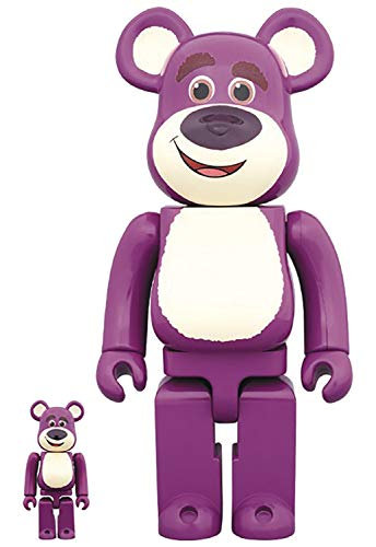 Medicom Toy Story: Lots-O'-Huggin' Bear 100% & 400% Bearbrick 2 Pack