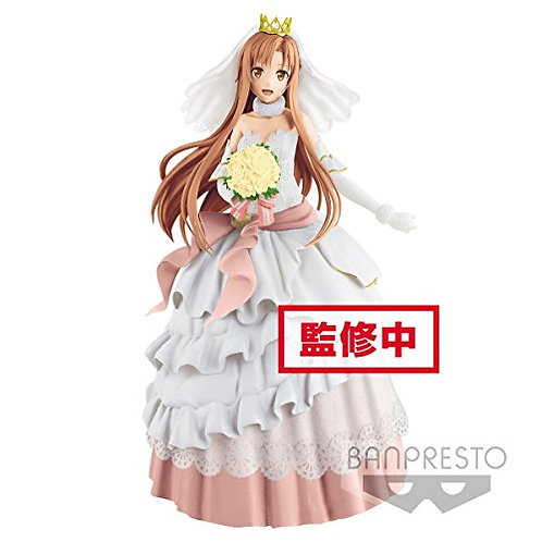 Banpresto Sword Art Online Code Register Exq Figure - Wedding - Asuna