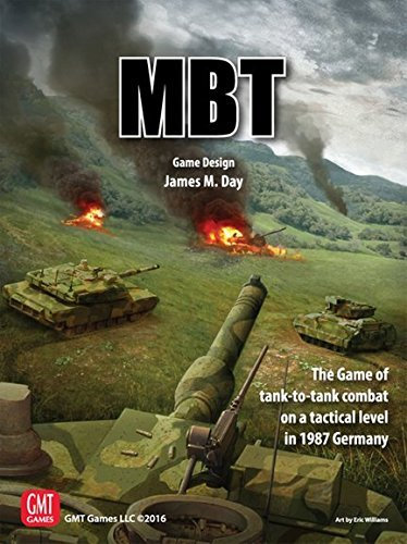 MBT: Game of tank-to-tank combat 1987