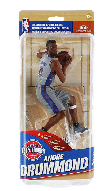 NBA SportsPicks Series 31 Action Figure: Andre Drummond (Pistons Uniform Variant