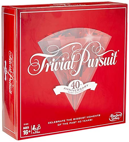 Trivial Pursuit:40th Annivers Ruby Ed