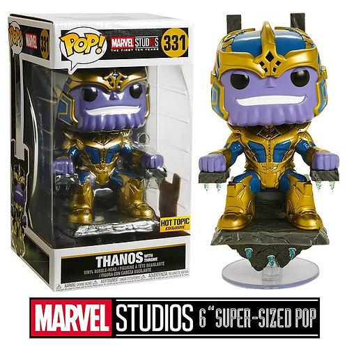 Funko Pop Marvel: Thanos on Throne Collectible Figure
