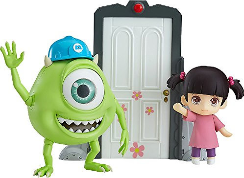 Good Smile Monsters Inc: Mike & Boo Deluxe Nendoroid Action Figure