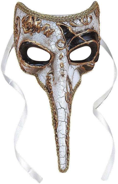 Plague Doctor Venetian Long Nose Mask
