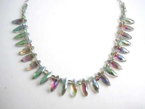 Sea Breeze Crystal Necklace