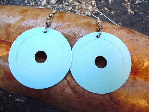 Recycled 45 LP Earrings