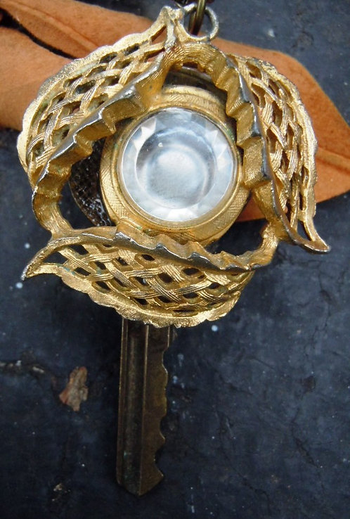Portal to a New World Key Necklace