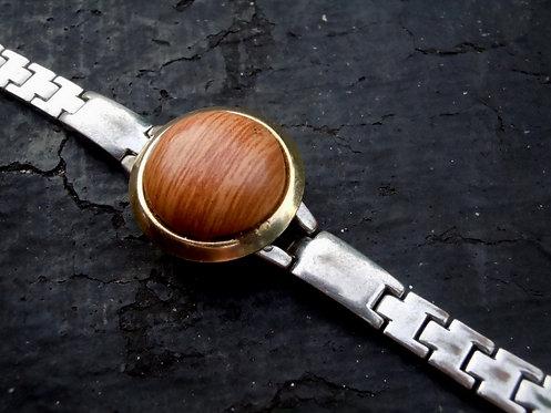 Wooden Gem Watch Band Bracelet